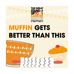 The Great Stand Up To Cancer Bake Off 2021 Social Media Post