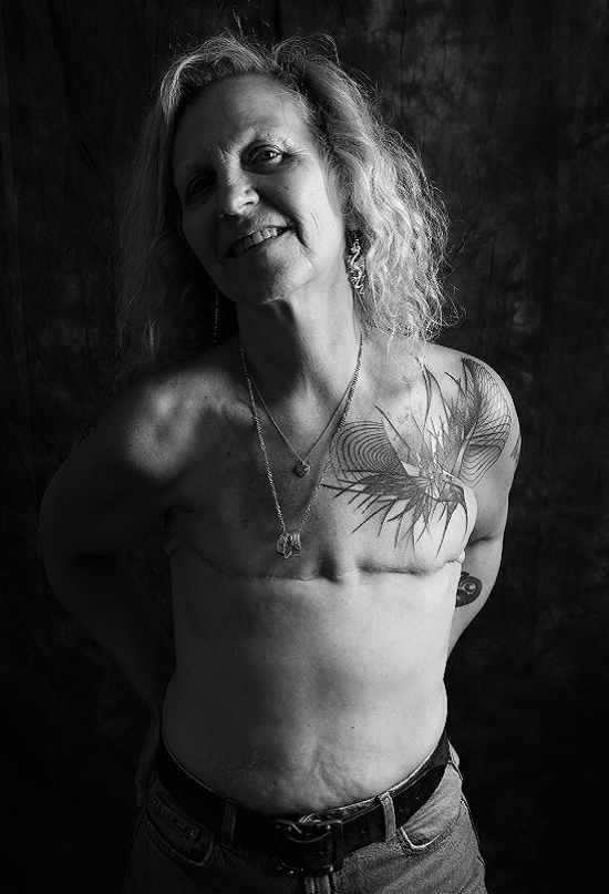 Photograph of Caroline for the Defiance series