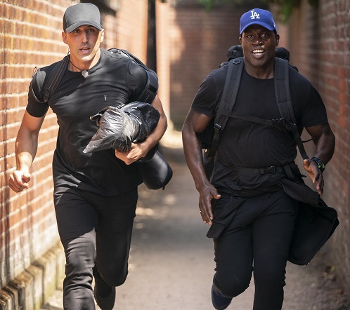 Celebs on the run in Hunted on Channel 4