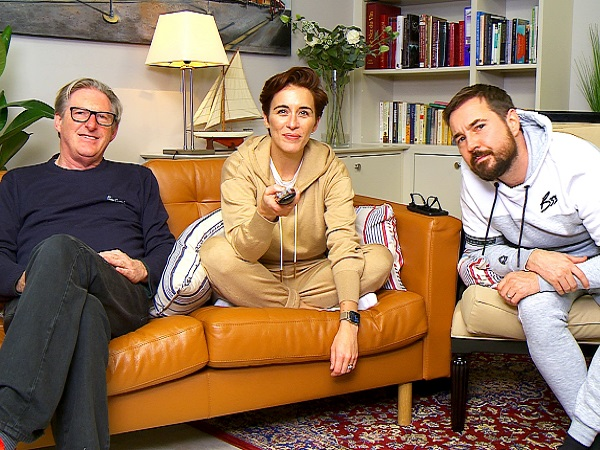 The Line Of Duty cast on Gogglebox