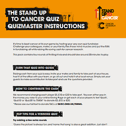 Front cover of downloadable quiz guide