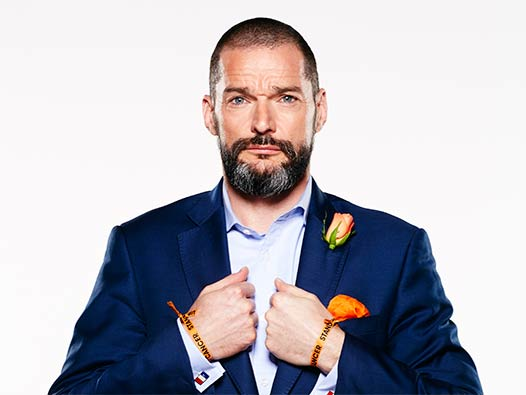 First Dates restaurant owner Fred Sirieix in a blue suit