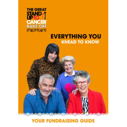 The Great Stand Up To Cancer Bake Off Fundraising Guide