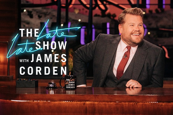 James Corden at The Late Late Show