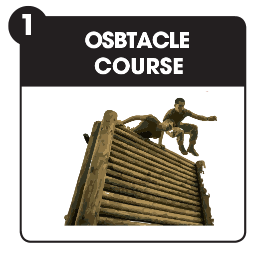 Fundraising idea - take on an obstacle course challenge