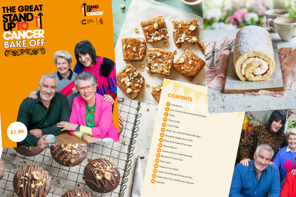 The Great Stand Up To Cancer Bake Off Recipe Booklet
