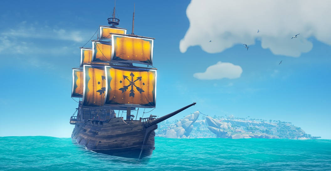 Sea of Thieves Sails of Union for Stand Up To Cancer