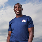 Linford Christie in Sink Or Swim
