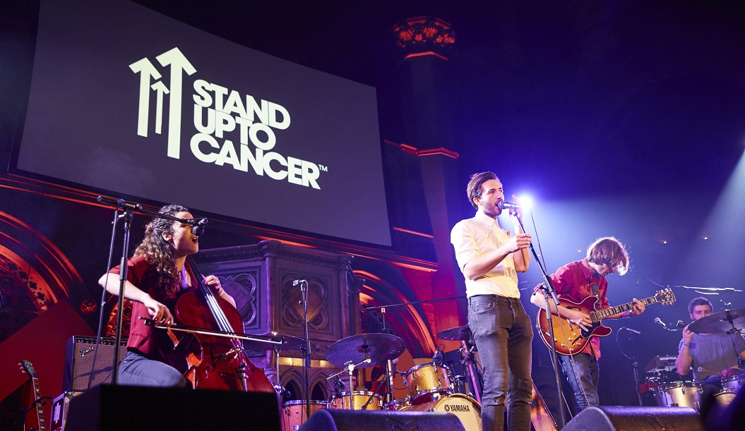Acoustic performance at Union Chapel for Stand Up To Cancer