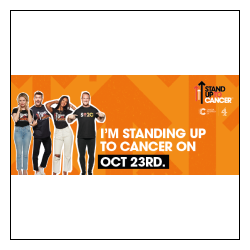 Standing Up To Cancer email banner 1