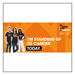 Standing Up To Cancer email banner 2