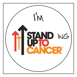 Standing Up To Cancer social post