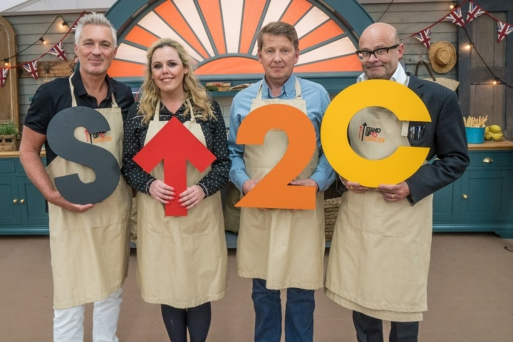 Great Stand Up To Cancer Bake Off contestants