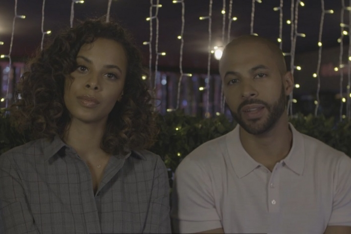 Marvin and Rochelle talking about cancer