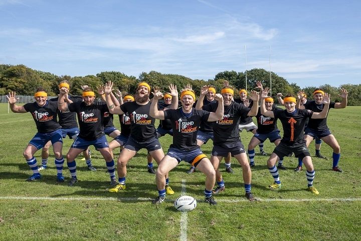 Hastings Rugby Team Standing Up To Cancer