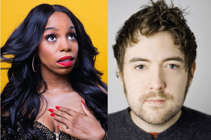 London Hughes and Nick Helm Widget