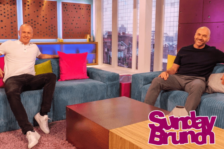 Sunday Brunch Hosts Simon Rimmer and Tim Lovejoy
