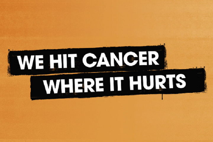We hit cancer where it hurt.