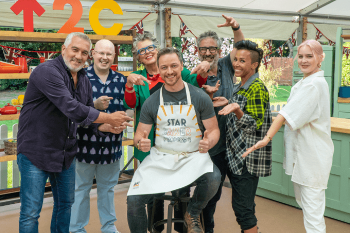 The Great Stand Up To Cancer Bake Off 2021 episode 2 celebrities