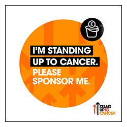Stand Up To Cancer Social Media Badge