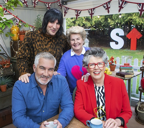 Great Stand Up To Cancer Bake Off hosts and judges