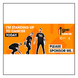 Stand Up To Cancer Email Signature