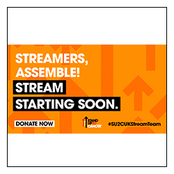 Stand Up To Cancer Stream Team Starting Soon Image Overlay