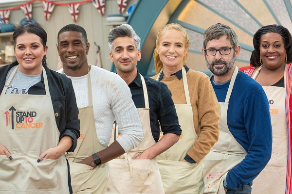 The Great Stand Up To Cancer Bake Off 2020 celebrities