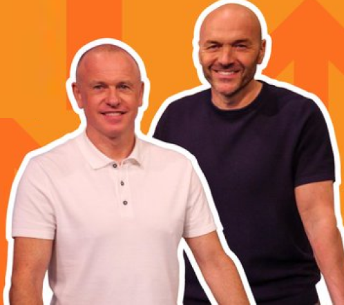 Simon Rimmer and Tim Lovejoy