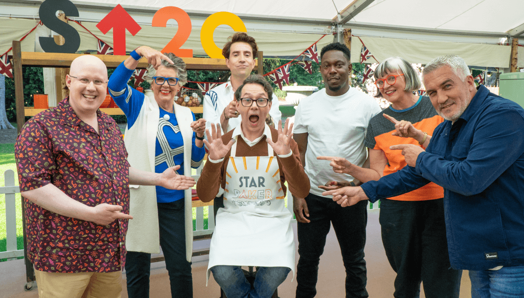The Great Stand Up To Cancer Bake Off 2021 episode 3 celebrities