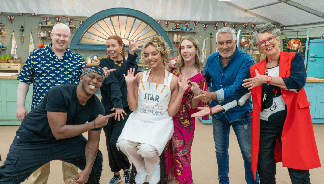 The Great Stand Up To Cancer Bake Off 2021 episode 4 celebrities