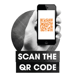 Scan QR code on iPhone.